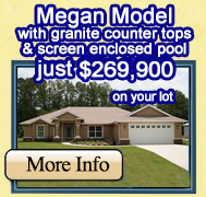 Megan Model just $254,900 on your lot